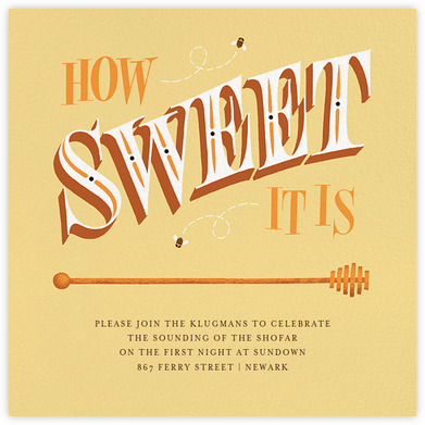 How Sweet It Is (Invitation) - Paperless Post -