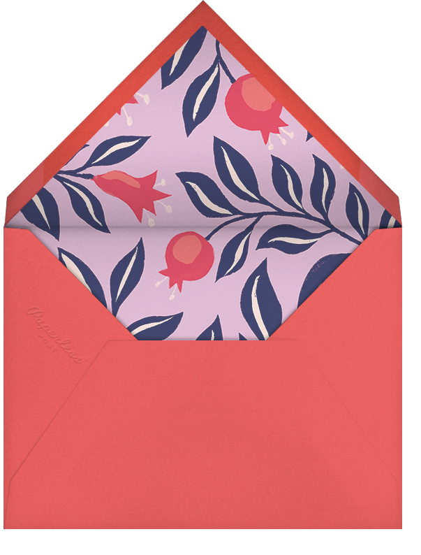 Pom Hashanah (Horizontal) - Paperless Post - Rosh Hashanah - envelope back