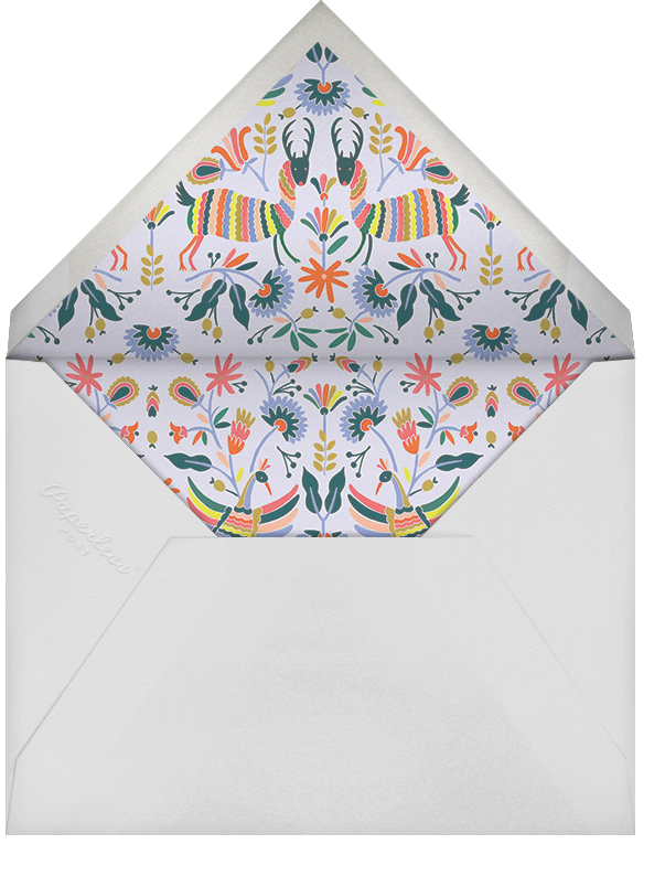 Otomi Wildlife (Horizontal) - Rifle Paper Co. - Charity and fundraiser  - envelope back