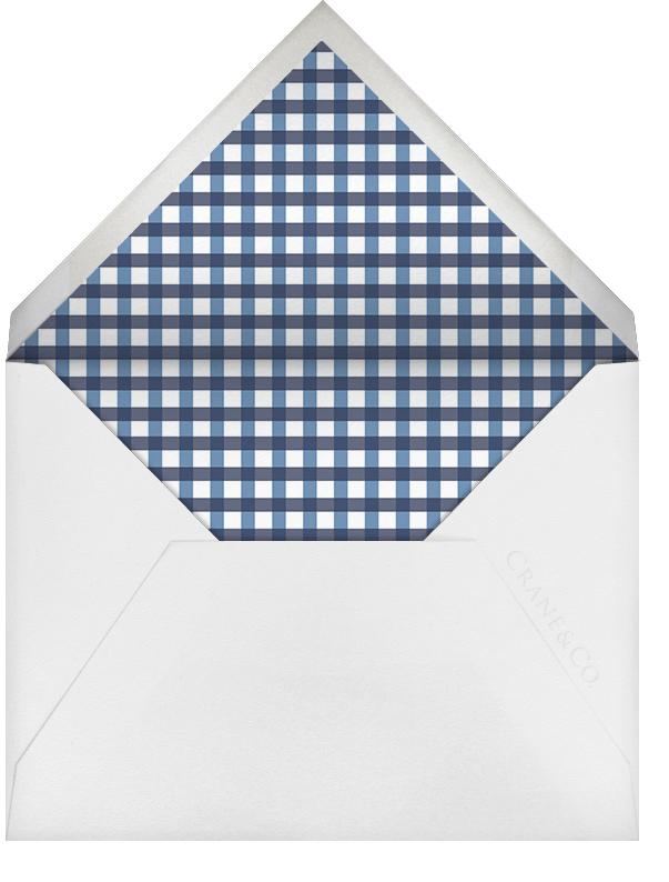 Wood Grain Dark (Square) - Paperless Post - Charity and fundraiser  - envelope back