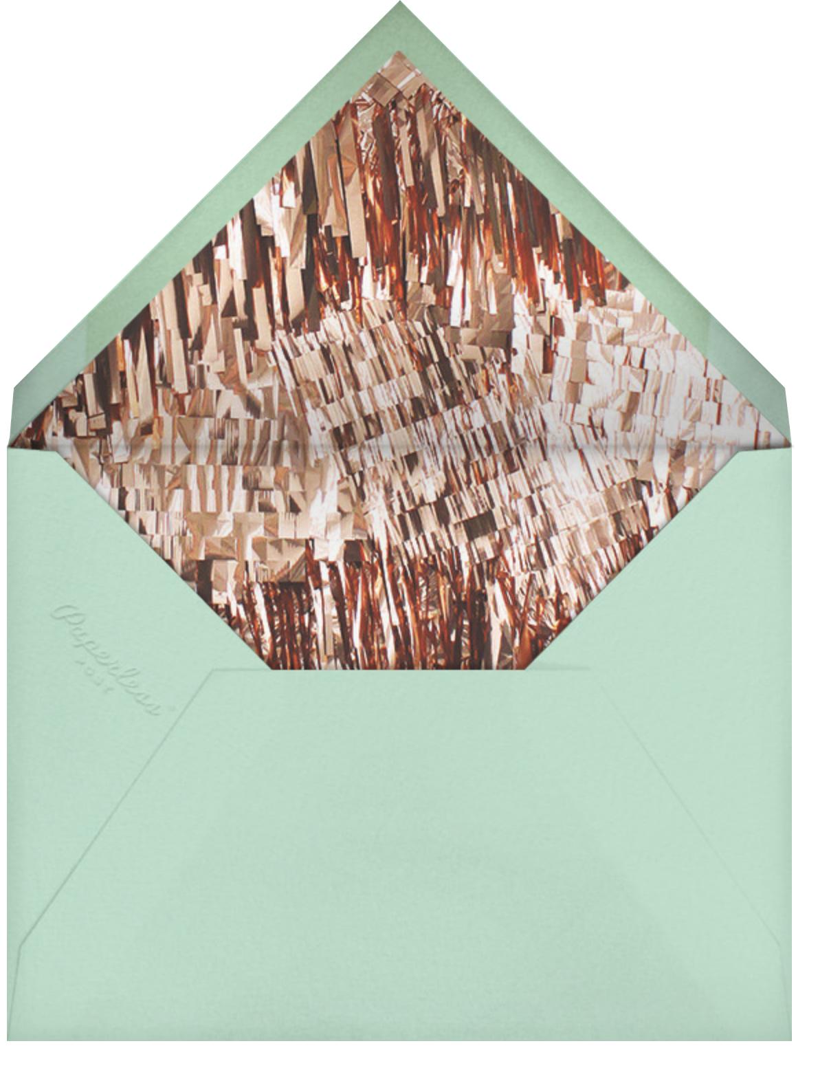 Flash (Photo) - Silver - CONFETTISYSTEM - Adult birthday - envelope back