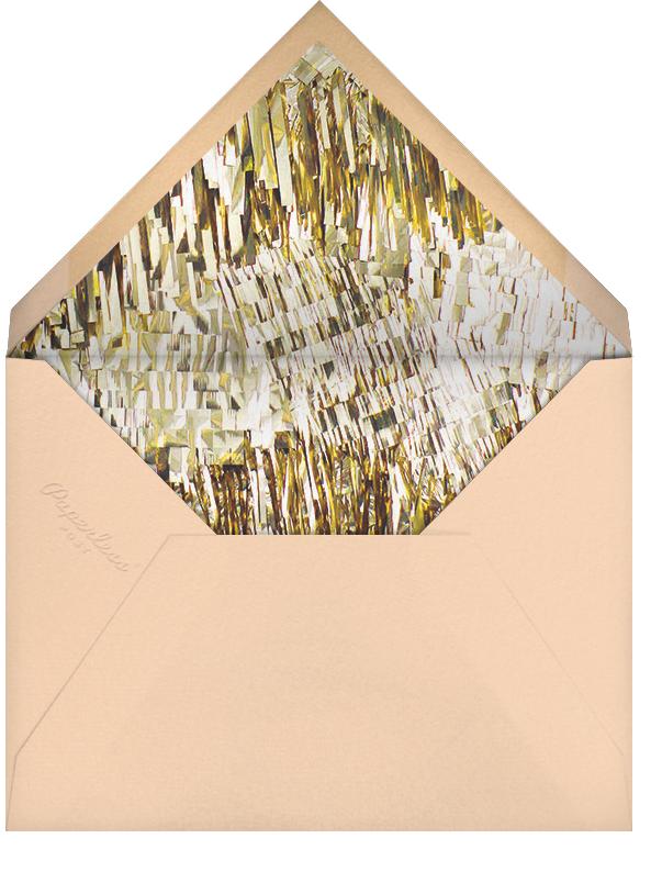Flutter - Pink - CONFETTISYSTEM - Bachelorette party - envelope back