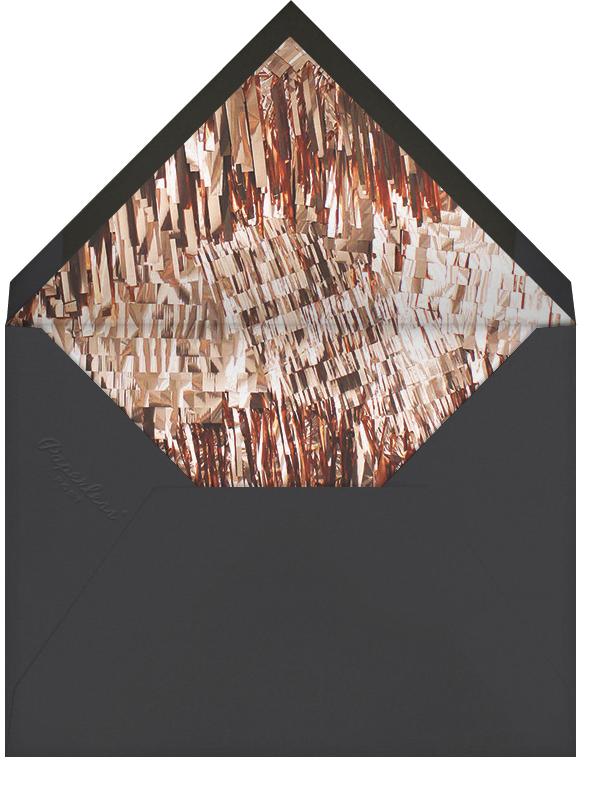 Shimmer - Pink/Copper - CONFETTISYSTEM - Bachelorette party - envelope back