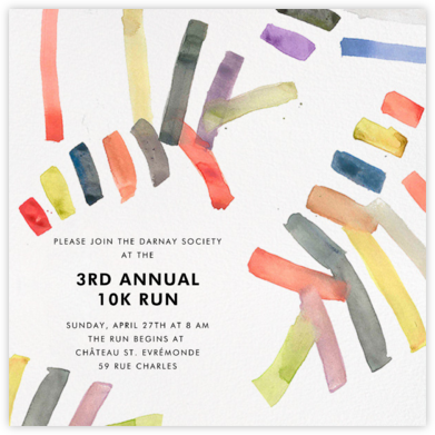 Sonnet - Multicolored - Kelly Wearstler - Charity and fundraiser invitations