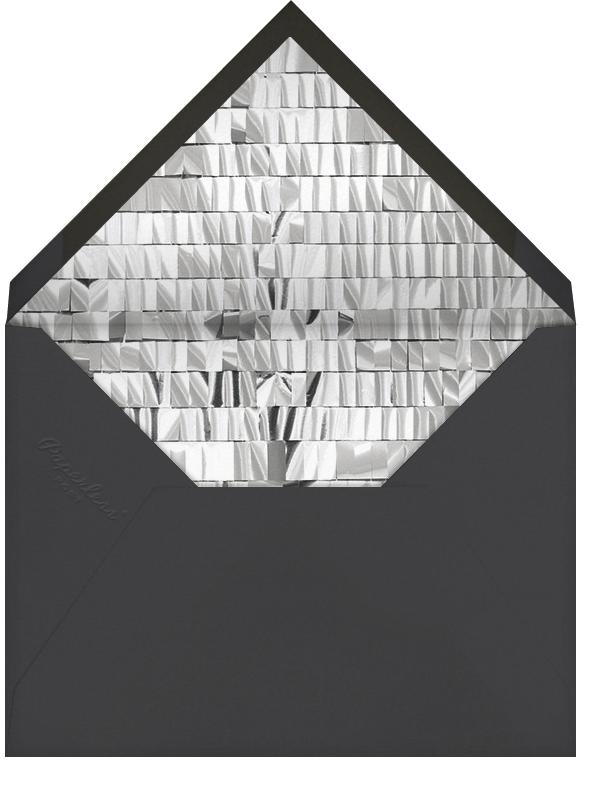Spark - Mint/Silver - CONFETTISYSTEM - Just because - envelope back