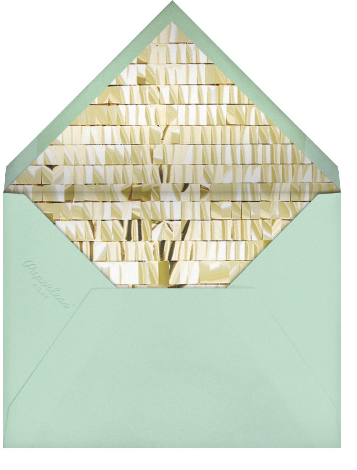 Spark - White/Gold - CONFETTISYSTEM - Just because - envelope back
