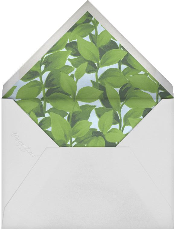 Hedge - Oscar de la Renta - Bridal shower - envelope back