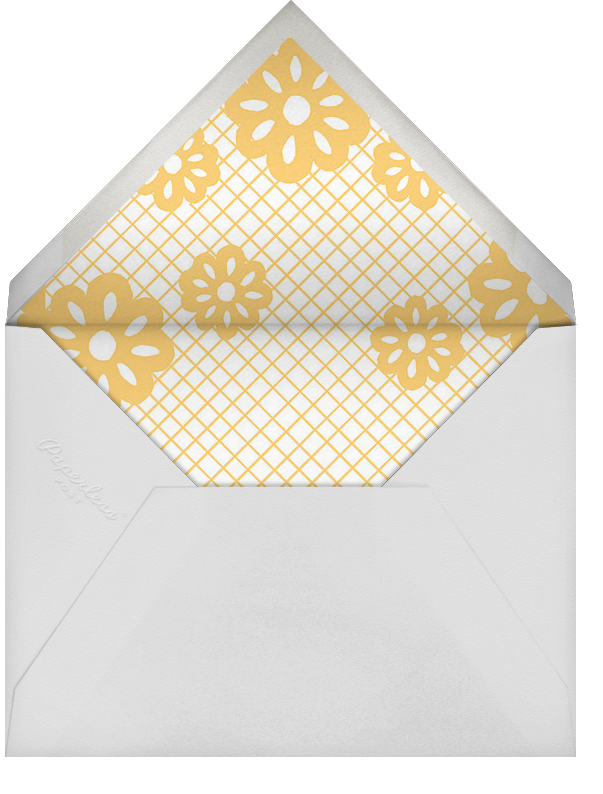 Papel Picado Celebration - Paperless Post - Bridal shower - envelope back