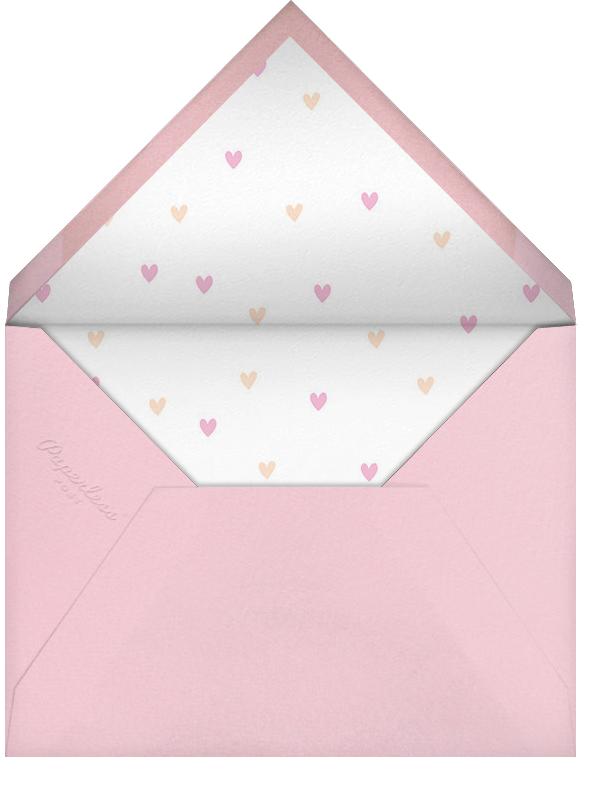Sneak Peek - Little Cube - Woodland baby shower - envelope back