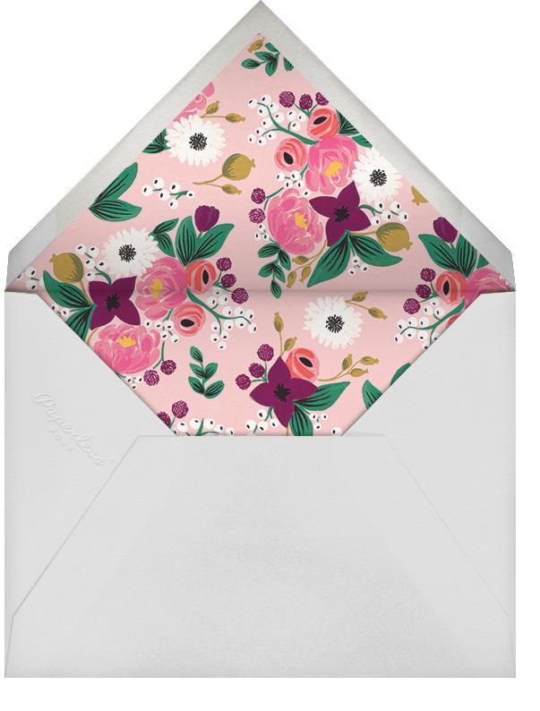 Vintage Blossom (Tall) - Rifle Paper Co. - Bridal shower - envelope back