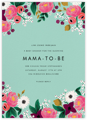 Vintage Blossom (Tall) - Rifle Paper Co. - Baby Shower Invitations
