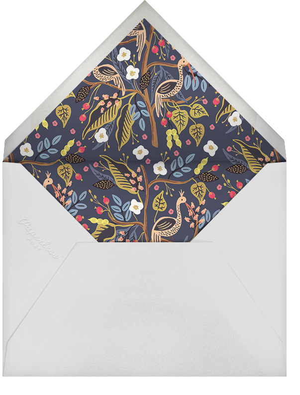 Egret Garden - Rifle Paper Co. - Baby shower - envelope back