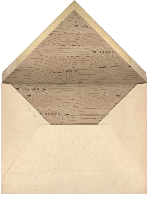 Hen - John Derian - Bachelorette party - envelope back