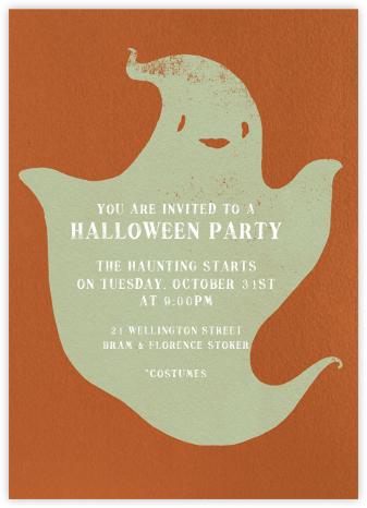 Ghostling - Paperless Post - Halloween invitations