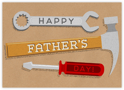 Dad of All Trades - Paperless Post - Father's Day cards