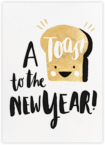 New Year's Toast (Greeting) - Hello!Lucky - Hello!Lucky Cards