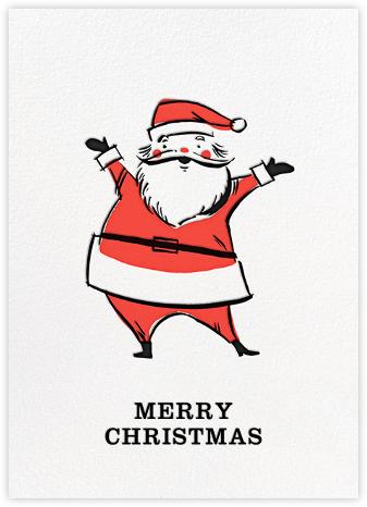 Retro Santa (Greeting) - Hello!Lucky - Hello!Lucky Cards