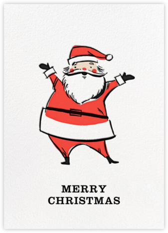 Retro Santa (Greeting) - Fair - Hello!Lucky -