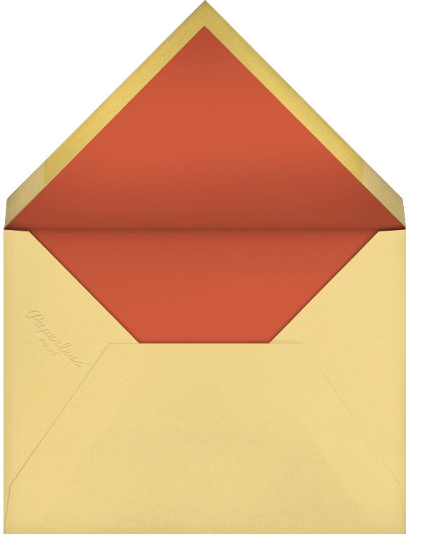 Three Wise Men (Barbara Dziadosz) - Red Cap Cards - Christmas - envelope back