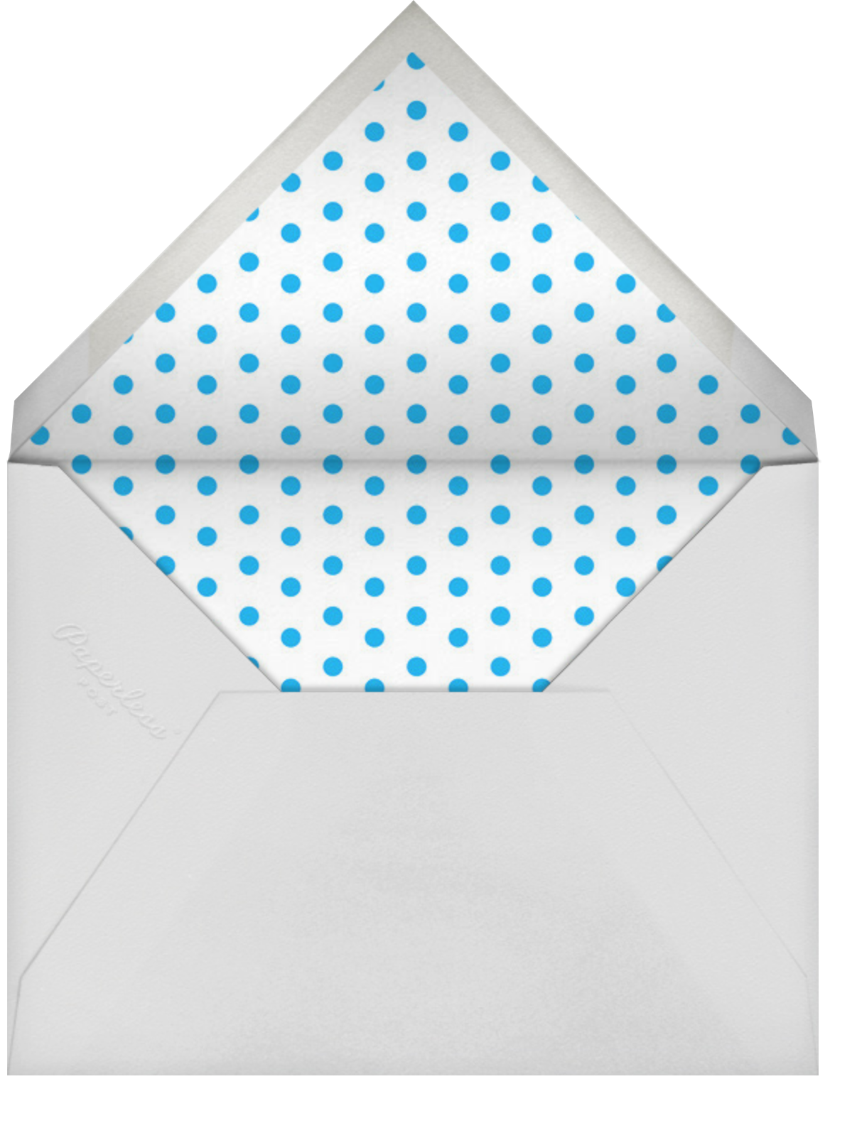Yeti Party - Hello!Lucky - Winter entertaining - envelope back