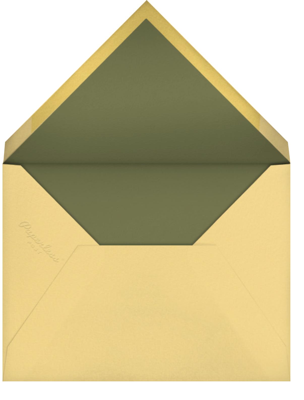 Handy Thank You (Barbara Dziadosz) - Red Cap Cards - Thank you - envelope back