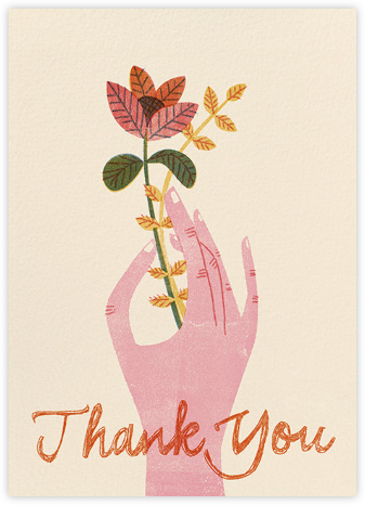 Handy Thank You (Barbara Dziadosz) - Red Cap Cards - Online Thank You Cards