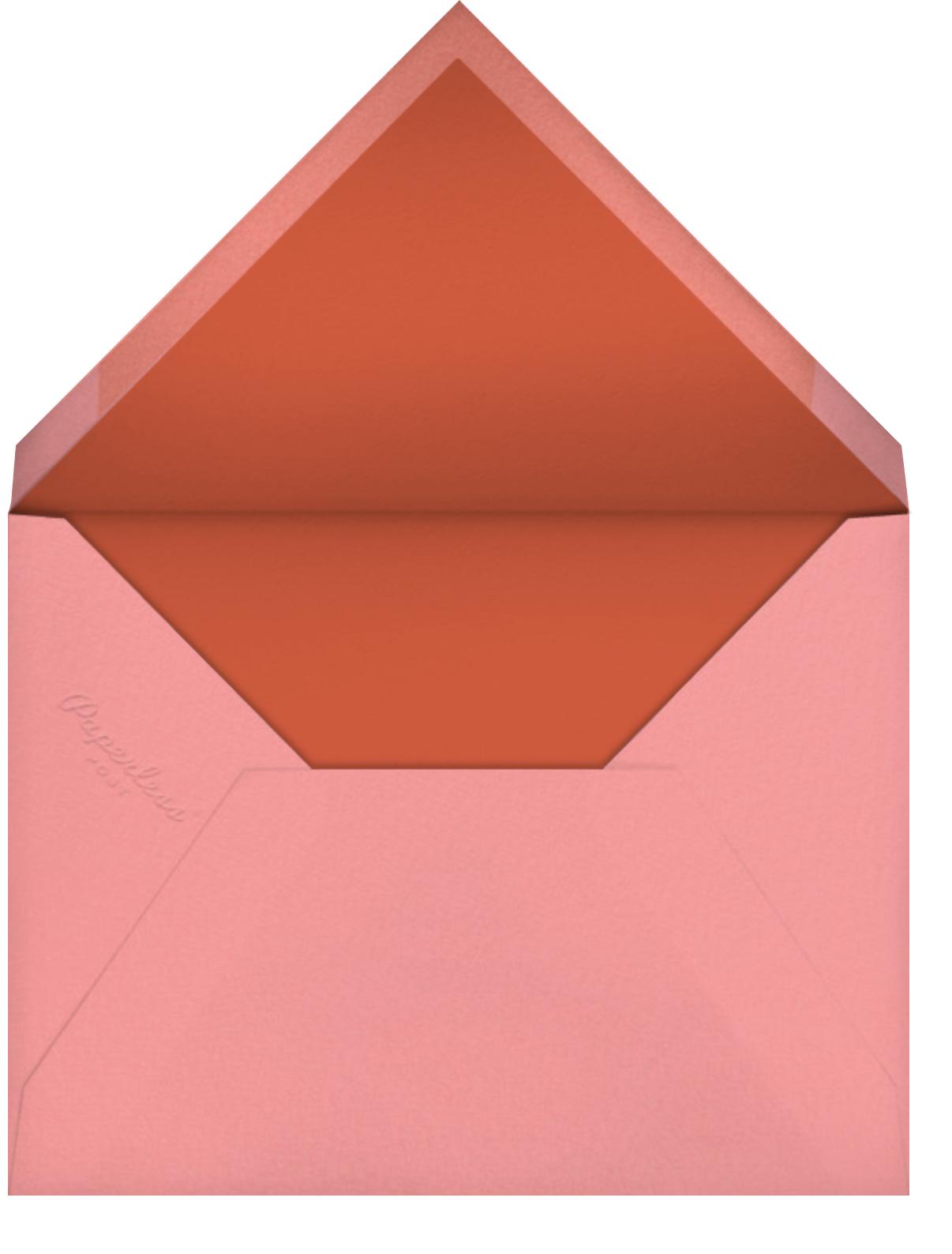 Mailbird (Barbara Dziadosz) - Red Cap Cards - Envelope