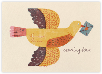 Mailbird (Barbara Dziadosz) - Red Cap Cards - Valentine's Day Cards