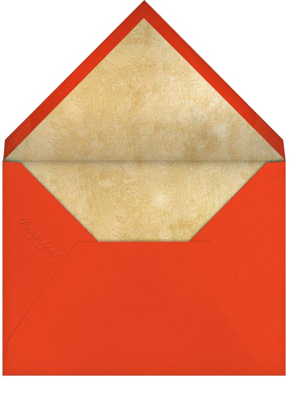 Golden Fireworks (Lesley Barnes) - Red Cap Cards - New Year - envelope back