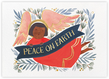 Peace Angel (Kelsey Garrity Riley) - Red Cap Cards -