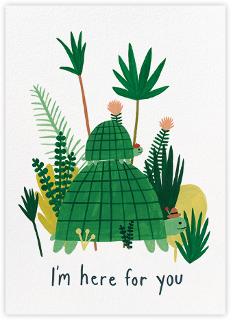 Here For You (Kate Pugsley) - Red Cap Cards - Just because cards