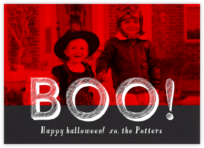 Be Very Afraid - Paperless Post - Halloween cards