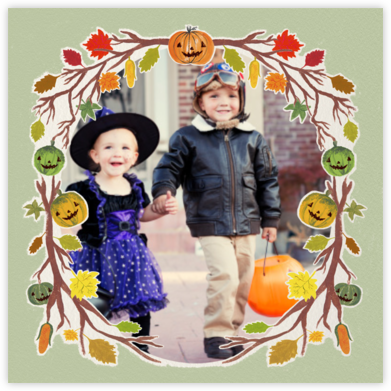 A Folk Tale - Paperless Post - Halloween cards