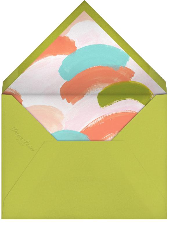 Tricolor Tidings - Chartreuse - Ashley G - Envelope