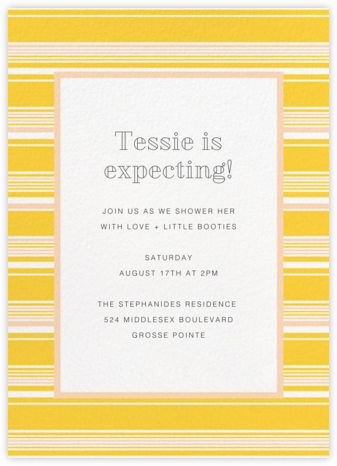 Hyannis - Citrus - Paperless Post - Baby Shower Invitations