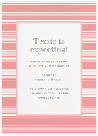 Hyannis - Blossom - Paperless Post - Baby Shower Invitations