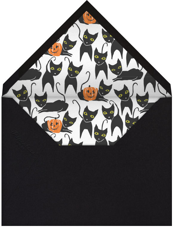 Cats' Patch - Crate & Barrel - Halloween - envelope back