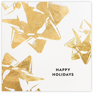 Bourgeois Bow - Gold - kate spade new york - Company holiday cards
