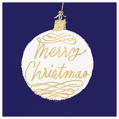 Christmas Ornament - Blue - kate spade new york -