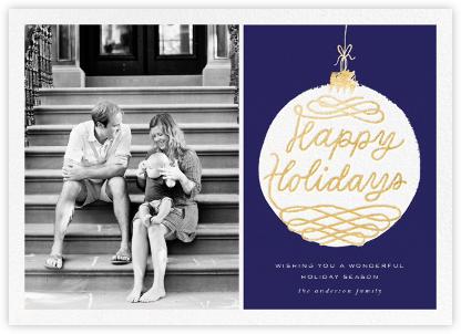 Holiday Ornament (Photo) - Blue - kate spade new york -
