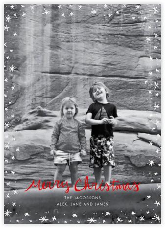Christmas Wink (Tall) - Red - Linda and Harriett -