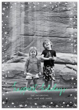 Holiday Wink (Tall) - Green - Linda and Harriett -
