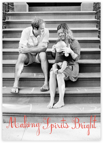 Life is Good (Tall Photo) - Coral - Mr. Boddington's Studio -