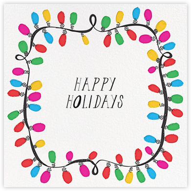 This Line is Tangled (Greeting) - Mr. Boddington's Studio - Holiday Cards