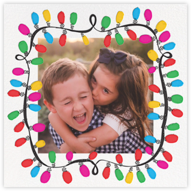 This Line is Tangled (Photo) - Mr. Boddington's Studio - Holiday photo cards