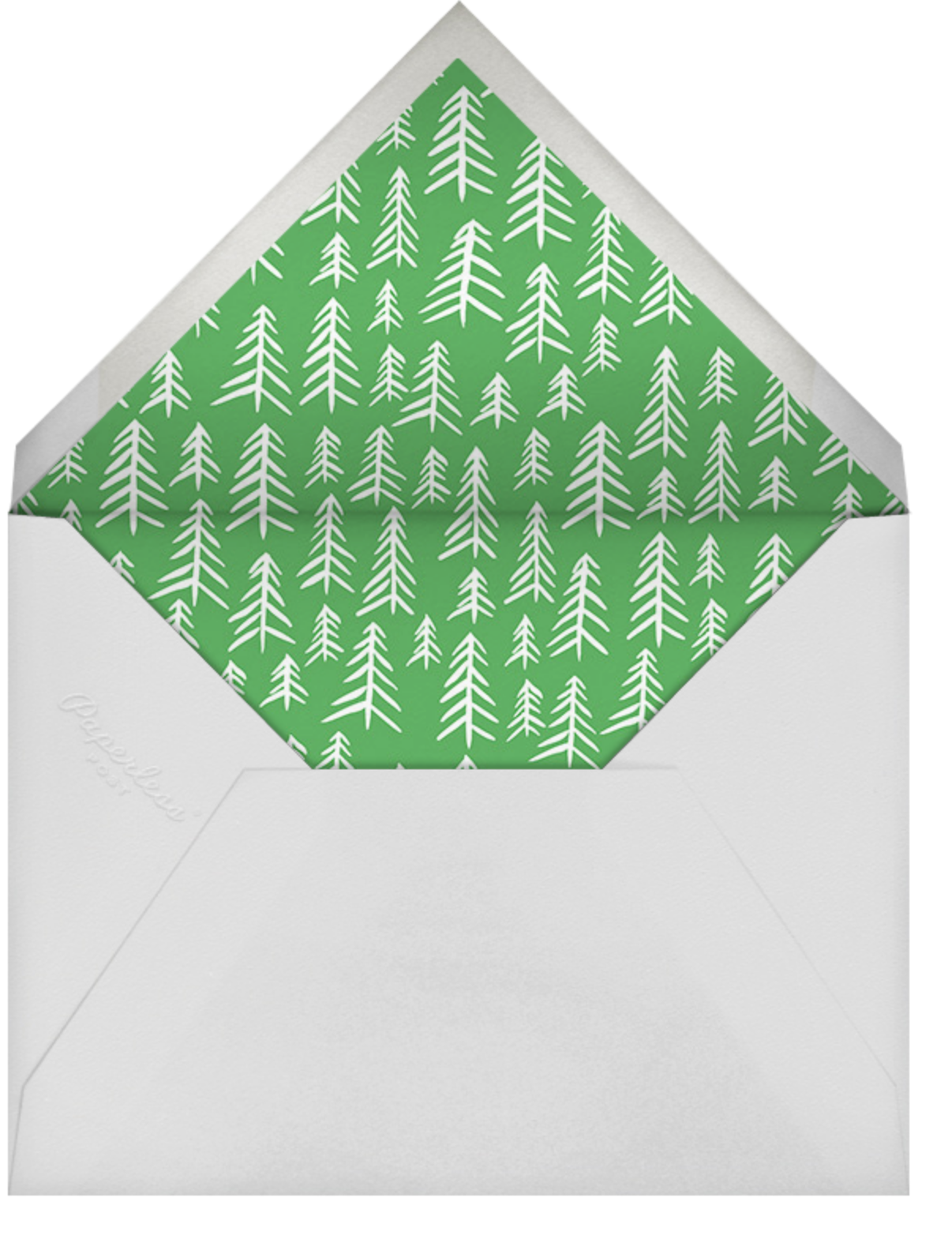 Pollenpine Christmas (Horizontal) - Linda and Harriett - Christmas - envelope back