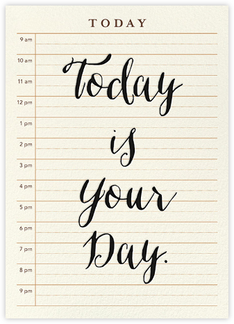 Today is Your Day - Derek Blasberg - Derek Blasberg