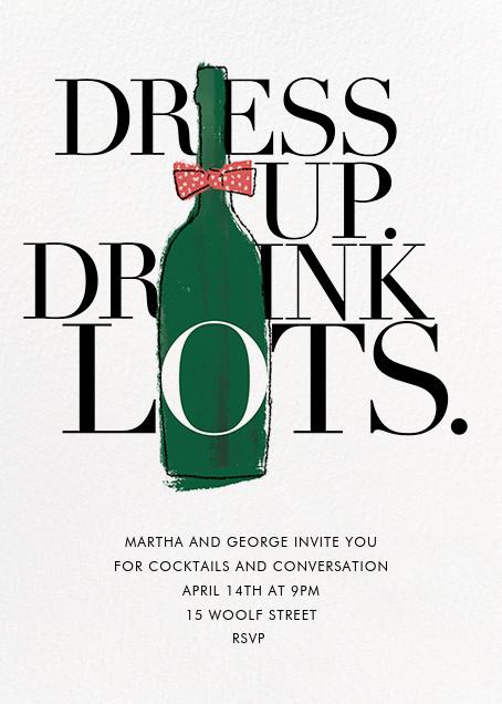 Dress Up, Drink Lots - Derek Blasberg -