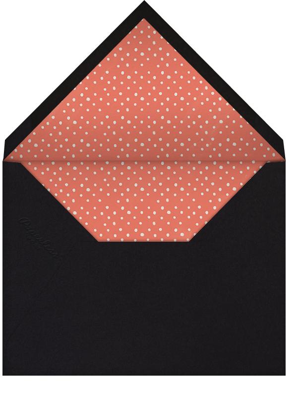 Dress Up, Drink Lots - Derek Blasberg - Wine tasting invitations - envelope back