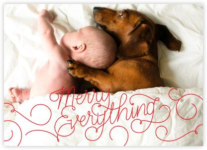 Merry Everything - Maraschino - Paperless Post -